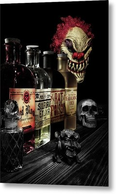 Evil Alchemy Metal Print by Tom Mc Nemar