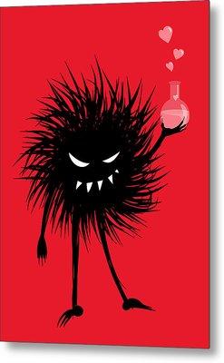 Evil Bug With A Love Potion Metal Print by Boriana Giormova