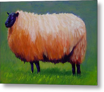 Ewe Are  Beautiful Metal Print