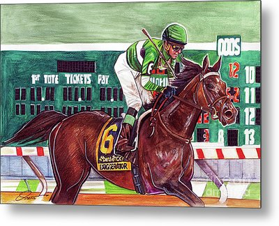 Exaggerator Metal Print by Dave Olsen