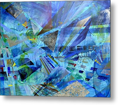 Excursions Of Vision Metal Print