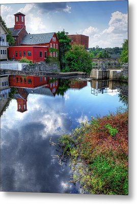 Exeter New Hampshire Metal Print by Rick Mosher