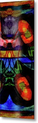Existing In Thought Metal Print by R Kyllo