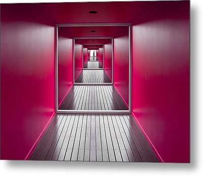 Exit Metal Print by Jacqueline Hammer
