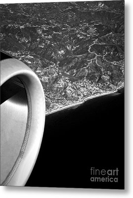Exit Row - Window Seat Metal Print by Gwyn Newcombe