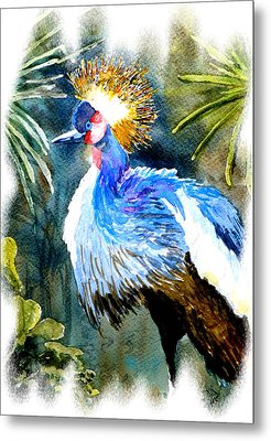 Exotic Bird Metal Print