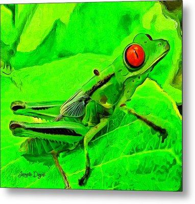 Exotic Nature - Da Metal Print by Leonardo Digenio