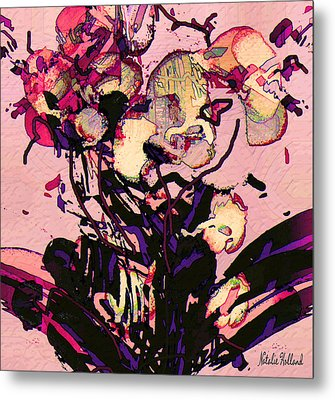 Exotic Orchid Metal Print