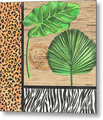 Exotic Palms 2 Metal Print by Debbie DeWitt