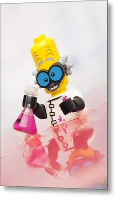 Experiment Gone Wrong Metal Print