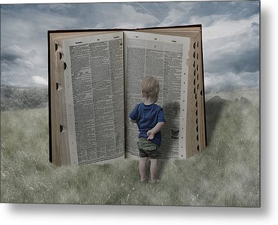 Exploration And Discovery Metal Print