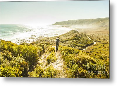 Exploring The West Coast Of Tasmania Metal Print by Jorgo Photography - Wall Art Gallery