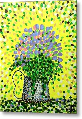 Explosive Flowers Metal Print by Alan Hogan
