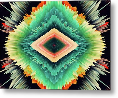 Exponential Flare Metal Print by Colleen Taylor