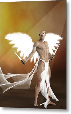 Exterminating Angel  Metal Print by Quim Abella