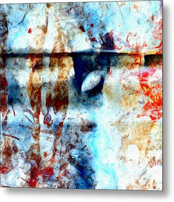 Extraction Metal Print by Tom Druin