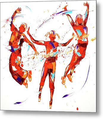 Exuberance Metal Print by Penny Warden