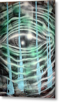Eye Knew Metal Print by Leigh Odom