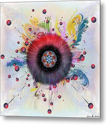 Eye Know Light Metal Print by Iowan Stone-Flowers