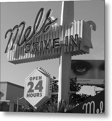 eye love Mel's Metal Print