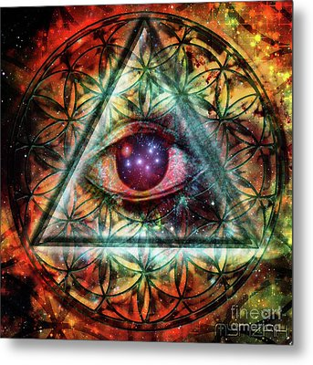 Eye Metal Print by Mynzah