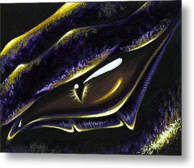 Eye Of Ametrine Metal Print by Elaina  Wagner