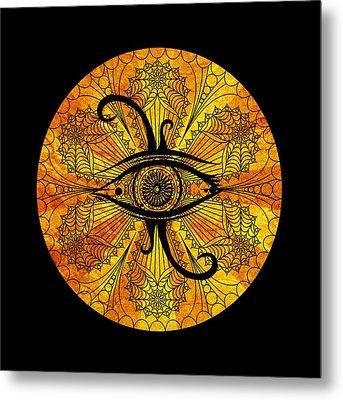 Eye Of Egypt Metal Print by Islam Hassan