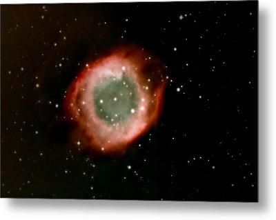 Eye Of God Helix Nebula Metal Print by Jim DeLillo