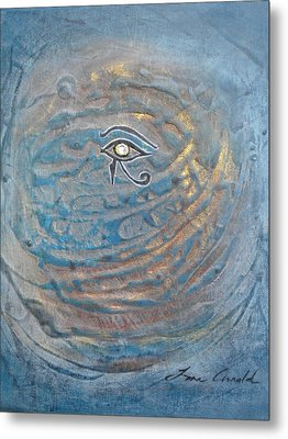 Eye Of Horus Metal Print by Tara Arnold