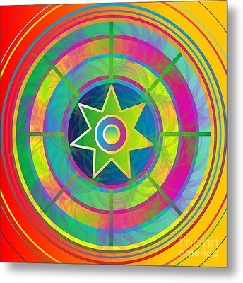 Eye Of Kanaloa 2012 Metal Print