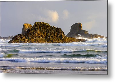Eye Of The Storm Metal Print by Mike  Dawson
