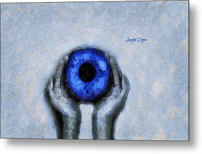 Eye Offer Metal Print