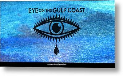 Eye On The Gulf Coast Metal Print
