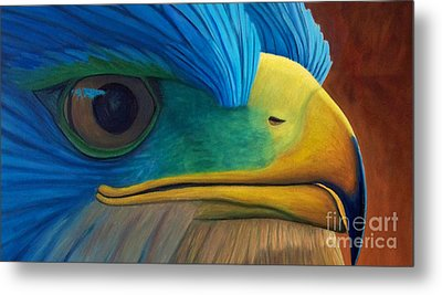 Eye On The Prize Metal Print by Brian  Commerford