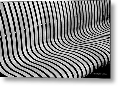 Eye Ride - Illusion  Metal Print by Deborah  Crew-Johnson