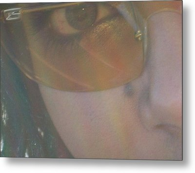 Metal Print featuring the photograph Eye by Robin Coaker