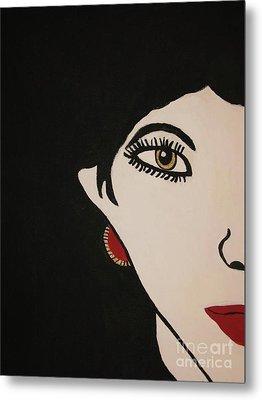 Eye Spy Painting Metal Print