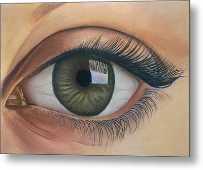 Eye - The Window Of The Soul Metal Print