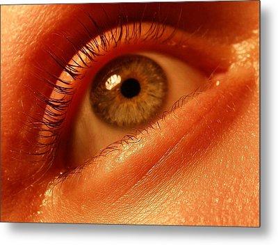 Eye Metal Print by Votus