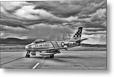 F-86 Sabre Metal Print