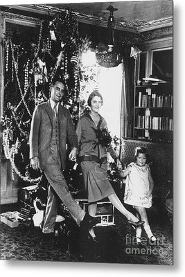 F. Scott Fitzgerald Family Metal Print by Granger
