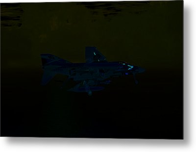 F4 At The Ninety Metal Print by Mike Ray