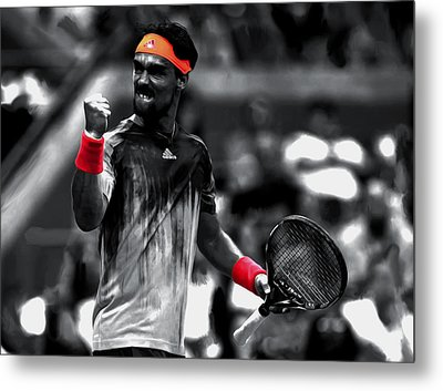 Fabio Fognini Metal Print by Brian Reaves