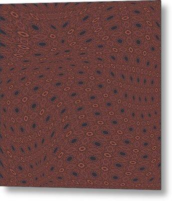Fabric Design 18 Metal Print