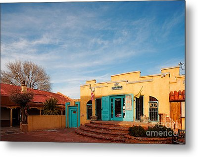 Facade Of A Souvenir Store At Old Town Albuquerque - New Mexico Metal Print