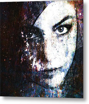 Face In A Dream Metal Print