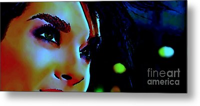Facing The New Dawn Metal Print by Dolly Mohr