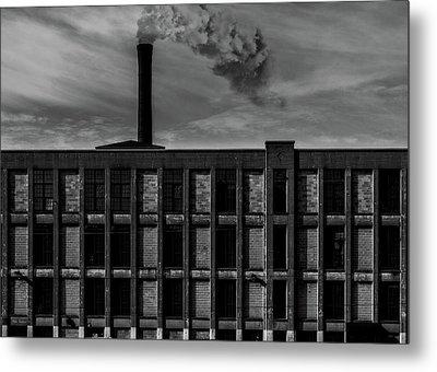 Factory Metal Print by Bob Orsillo