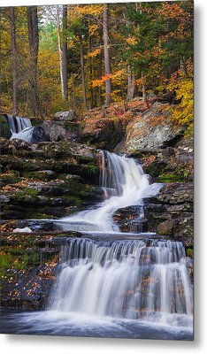 Metal Print featuring the photograph Factory Falls 2 by Mark Papke