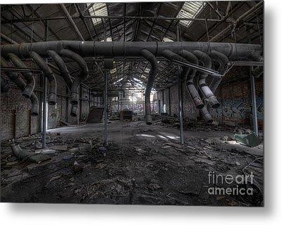 Factory Metal Print by Svetlana Sewell